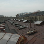 Eastern State Penitentiary Roof Before 2